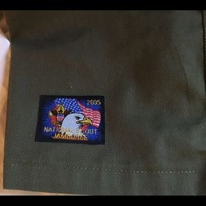 Boy Scouts Cotton Twill Jamboree Uniform Shorts 32